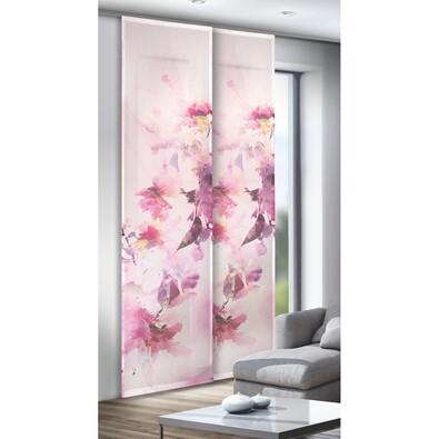 Japonská stěna Scarlett, 245 x 60 cm