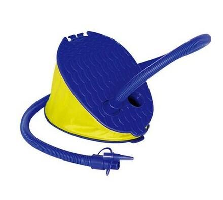 Nožní pumpa, Vetro Plus, VTP 51JL29P1001, modrá, 26 x 18 cm