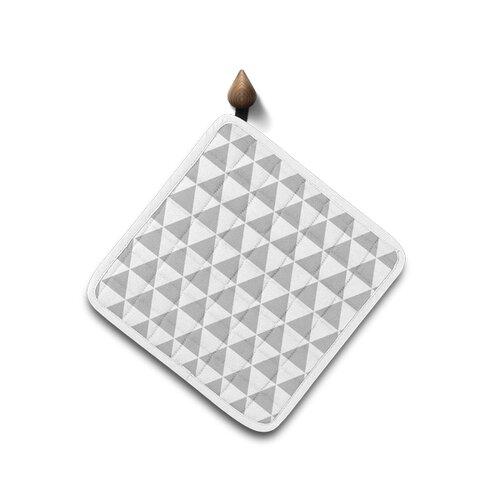 Domarex Kuchyňská podložka Home Chef šedá, 20 x 20 cm
