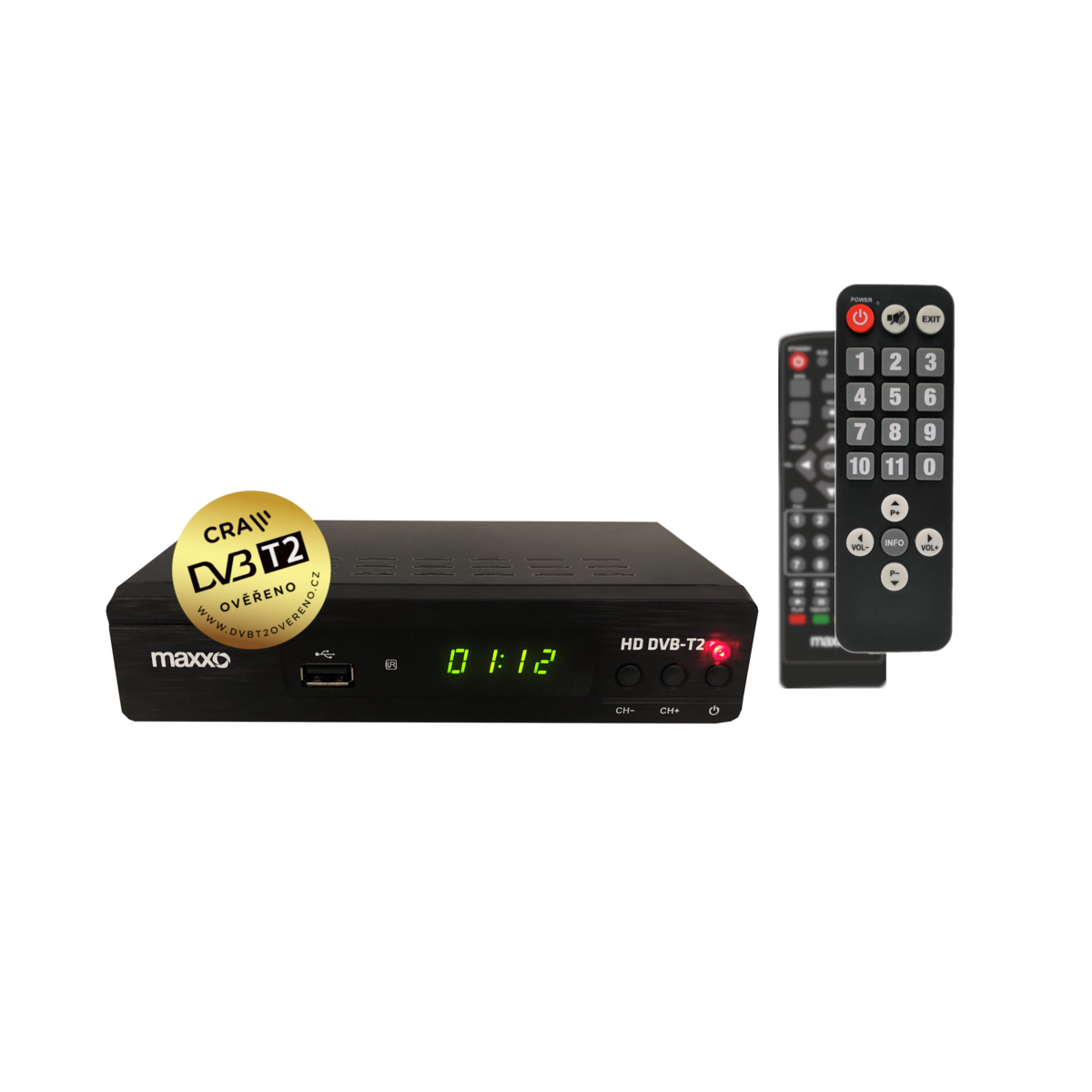 Maxxo T2 HEVCH.265 Set-top box Senior