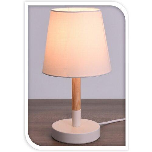 Koopman Stolná lampa Pastel tones biela, 30,5 cm