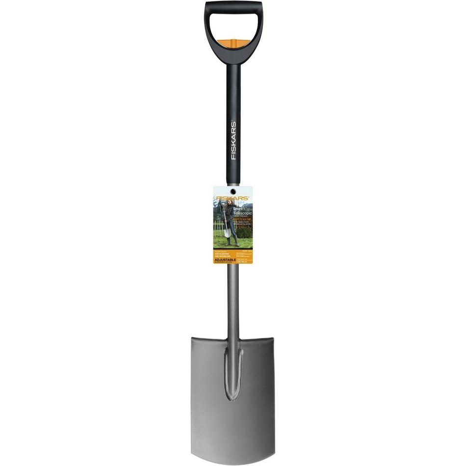 Fiskars SmartFit Teleskopický rýč, rovný