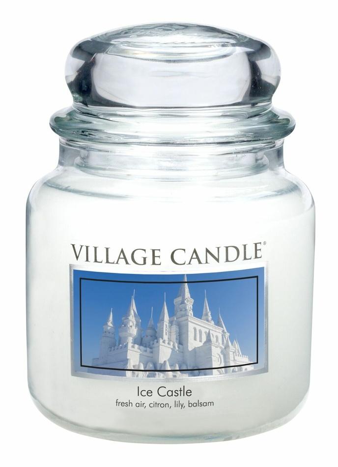 Village Candle Vonná svíčka ve skle, Ledové království - Ice Castle, 397 g, 397 g