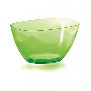 Prosperplast Dekorativní miska Coubi zelená, 20 cm, 20 cm