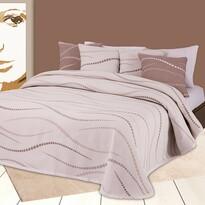 Přehoz na postel Links, 240 x 260 cm + 2 ks 40 x 40 cm
