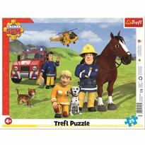 Trefl Puzzle Požárník Sam Na hlídce, 25 dílků