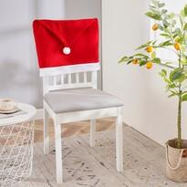 4Home Vánoční potah na židli Santa, 49 x 60 cm, sada 2 ks