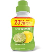 SodaStream Sirup Lemon Lime, 750 ml