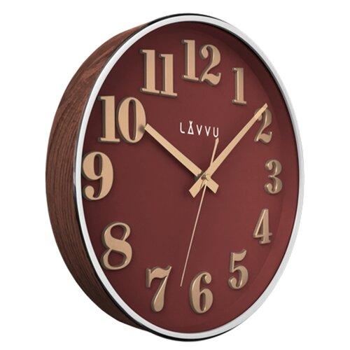 Nástenné hodiny Lavvu Home Red LCT1163 červená, pr. 32 cm