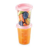 Tescoma PAPU PAPI doboz 250 ml, 2 db, rózsaszín