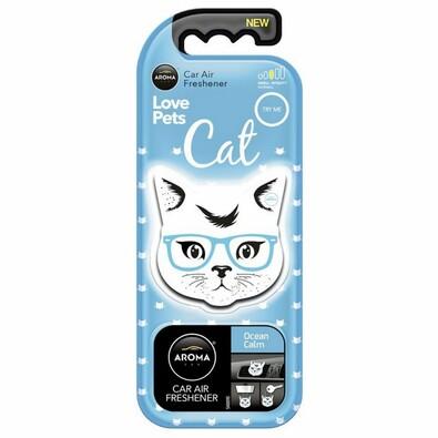 Osvěžovač Aroma Car Cat, ocean calm