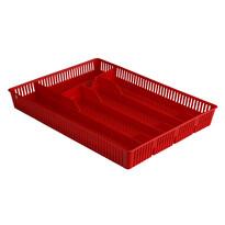 Altom Altom Wkład do szuflady perforowany 31 x 23 cm, czerwień