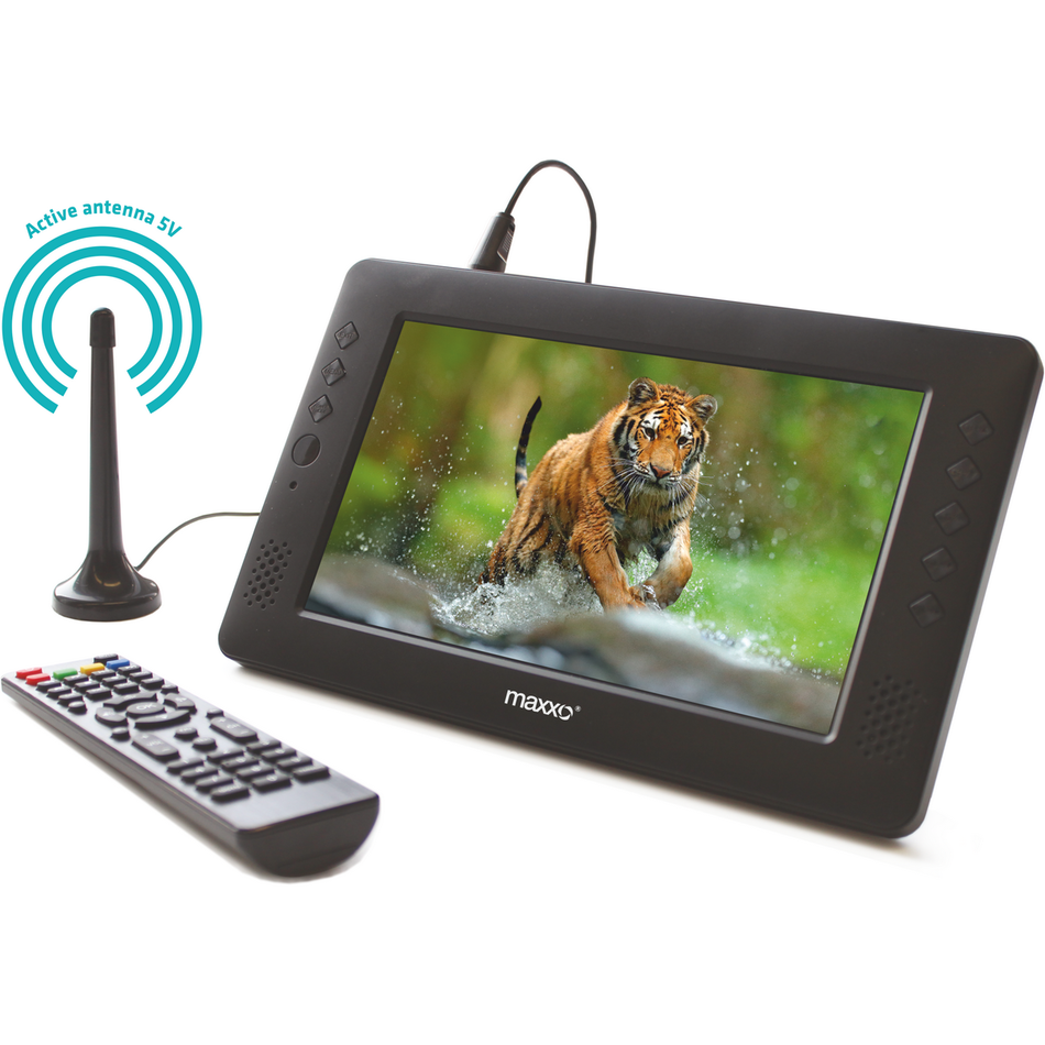 Maxxo Mini TV HD - T2 HEVC/H.265 přenosný televizor