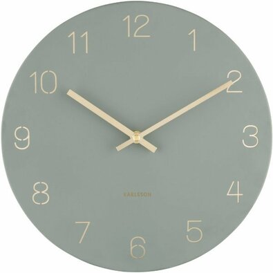 Karlsson 5788GR designové nástěnné hodiny, pr. 30 cm