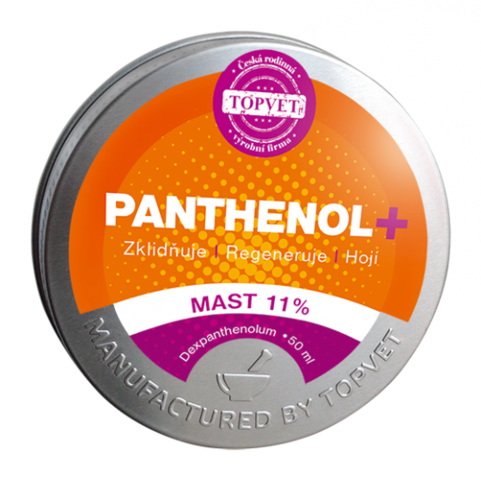 Topvet Panthenol mast 11 %, 50 ml