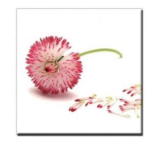 Jednodielny obraz Pink Air, 60x60 cm, PA107