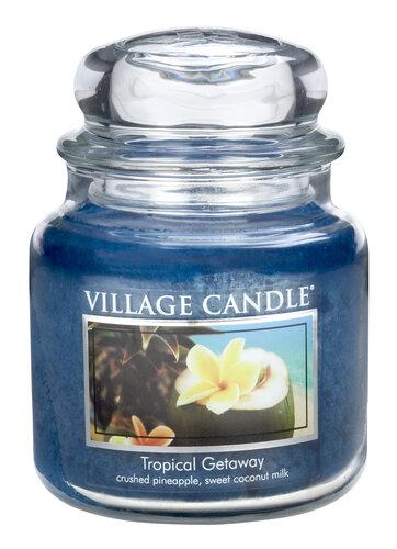 Village Candle Vonná svíčka Víkend v tropech - Tropical Getaway, 397 g