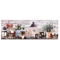 Vianočný behúň Svietniky, 30 x 90 cm