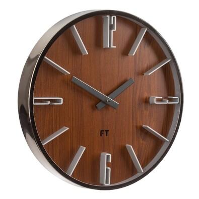 Future Time FT6010TT Numbers Designerski zegar ścienny, śr. 30 cm