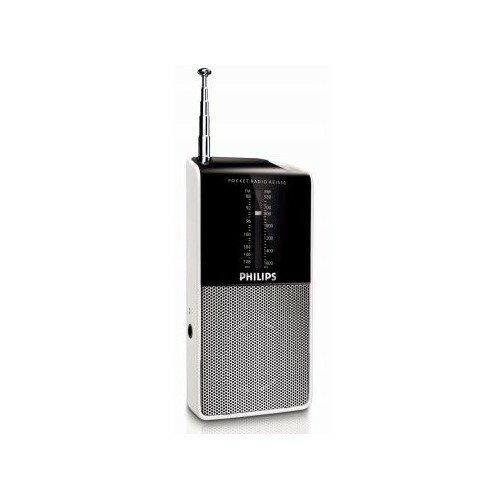 Philips AE1530/00 kapesní radiopřijímač, 11,7 x 1,9 x 5,6 cm