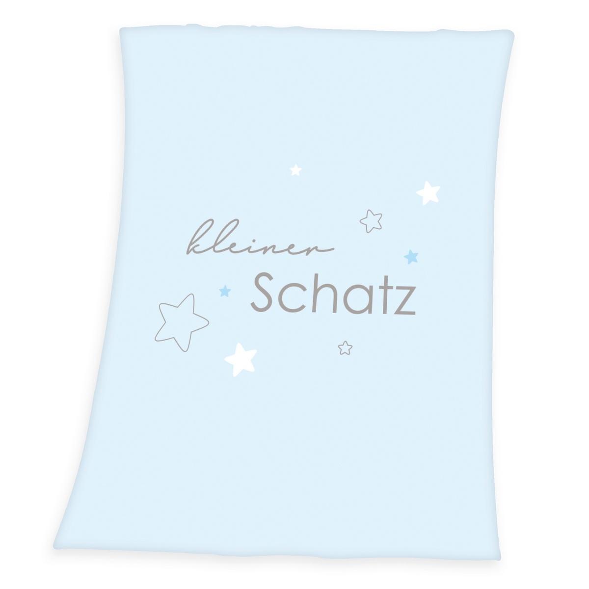 Herding Deka Kleiner Schatz modrá, 75 x 100 cm