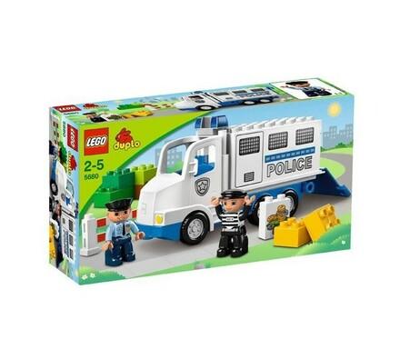 Lego Duplo Policejní dodávka, vícebarevná