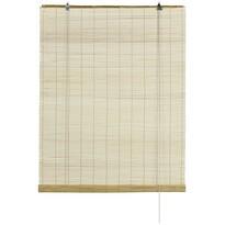 Roleta bambusowa naturalna, 80 x 160 cm