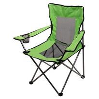 Cattara Kempingová skladacia stolička Net, zelená