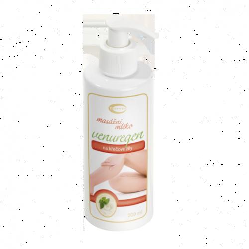 Topvet Masážne mlieko Venuregen, 200 ml