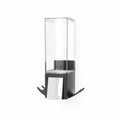 Compactor Nástenný dávkovač mydlovej peny Edge500 ml, čierna