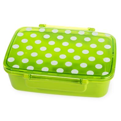 Pudełko na drugie śniadanie z wiekiem Dot, zielony