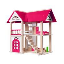 Woody Domek dla lalek Willa Anna-Maria, 53 x 32,5 x 51 cm