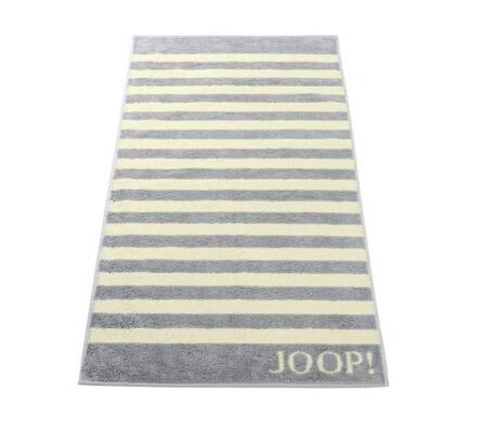 JOOP! osuška Stripes šedá, 80 x 150 cm