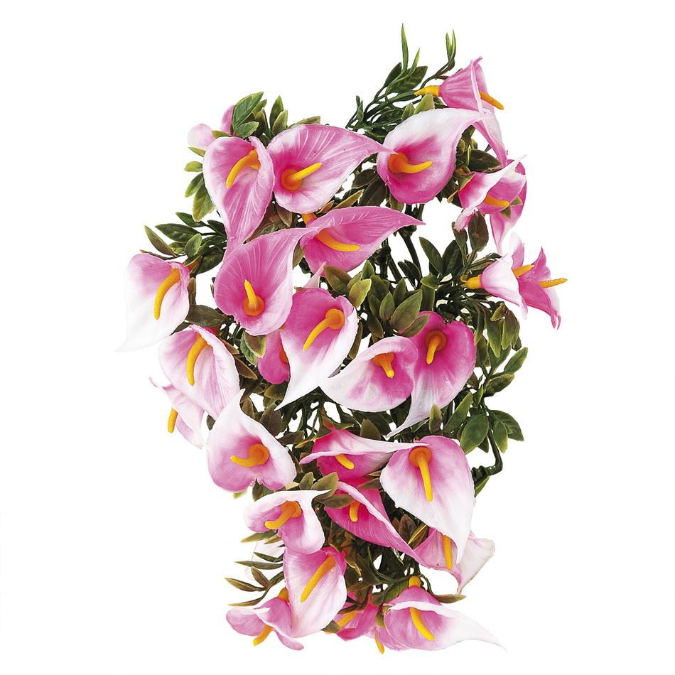 Umelé kvetiny kala, ružová, 30 cm,  HTH