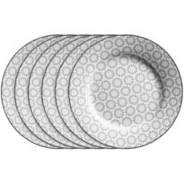 Mäser Komplet talerzy deserowych ORNATE 20,5 cm, 6 szt.