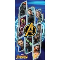 Osuška Avengers Infinity war, 70 x 140 cm
