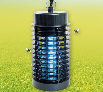 Lampa k hubení hmyzu 25 cm černá
