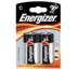 Alkalické baterie, 2ks, R14 Base, Energizer