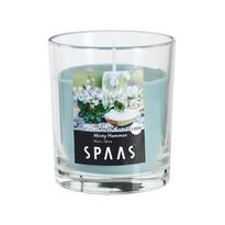SPAAS Vonná sviečka v skle Minty Hamman, 7 cm