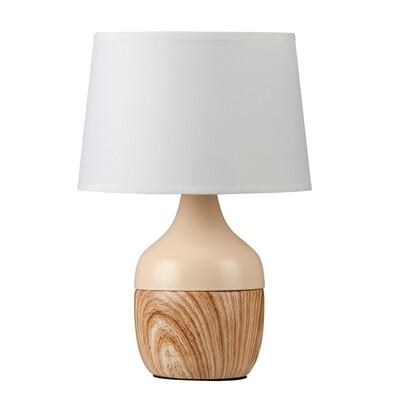 Rabalux 4370 Yvette stolná lampa, béžová