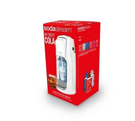 Sodastream Jet White Porschen Pack