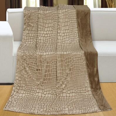 Deka Ming micro hnědá, 150 x 200 cm