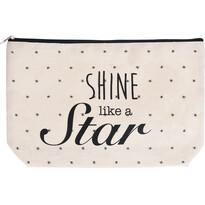 Koopman Kosmetická taštička Shine like a star, 33 x 21 cm