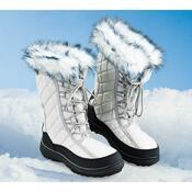 Dámské zimní boty, šedá, 37