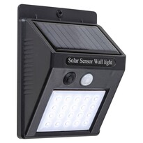 LED solar exterior Rabalux 7933 Ostrava corp de iluminat cu senzor de mișcare, 12,3 cm