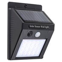 Rabalux 7933 Ostrava vonkajšie solárne LED svietidlo s pohybovým senzorom, 12,3 cm