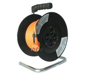 Solight Prodlužovací kabel oranžová, 25 m