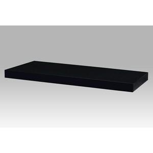 Nástěnná polička 60 cm, černá
