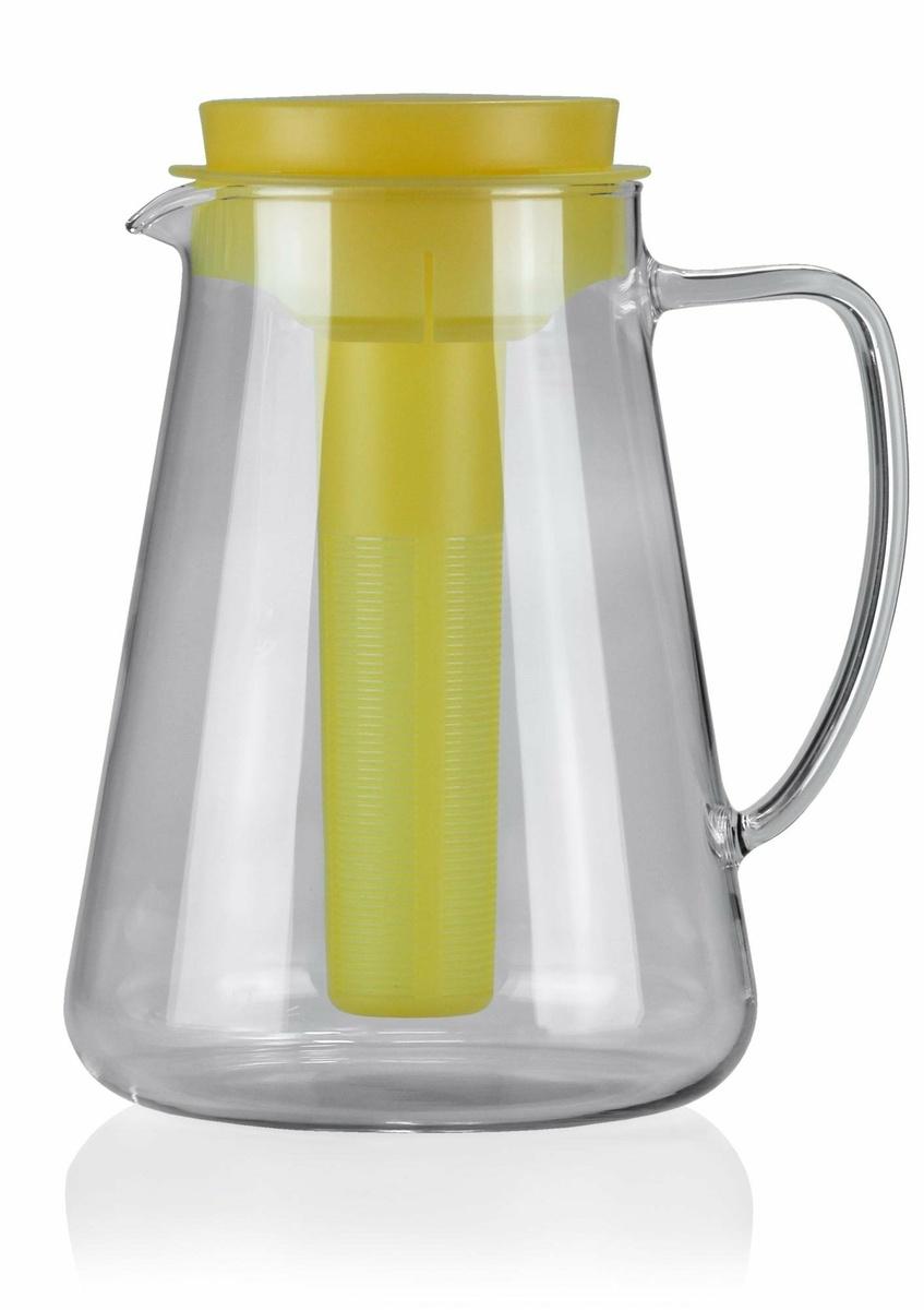Tescoma TEO džbán s vyluhováním a chlazením, žlutá