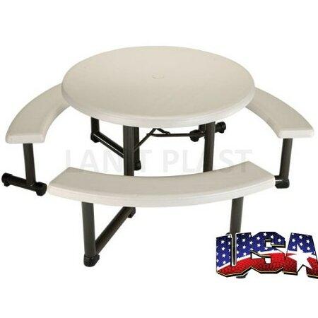 LIFETIME - piknikový stůl a 3x lavice (22127)